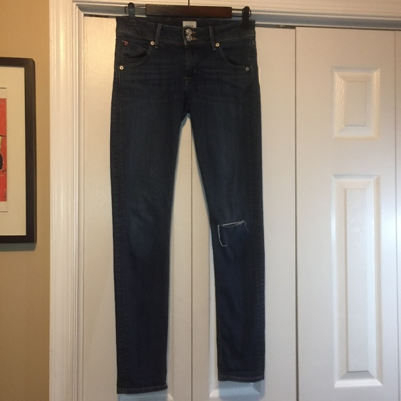 251c31bb325 Hudson Jeans Jeans | Hudson Womens Colin Flap Skinny Denim 27 | Poshmark